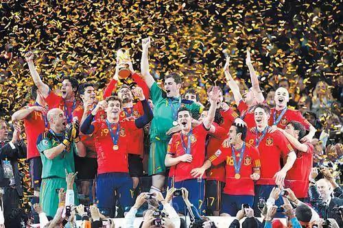 西班牙庆世界杯夺冠十周年