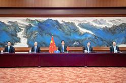 栗战书出席第五次世界议长大会视频会议