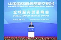 韩正出席2020年中国国际服务贸易交易会全球服务贸易峰会