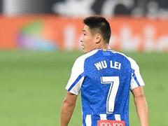 吴磊进球 西班牙人3-0阿尔瓦赛特