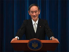 习近平致电祝贺菅义伟当选日本首相