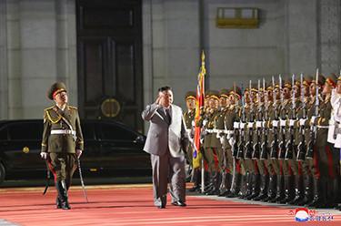 朝鲜阅兵庆祝朝鲜劳动党成立75周年