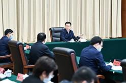 韩正在生态环境部召开座谈会