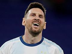 梅西破门被吹 阿根廷1-1巴拉圭