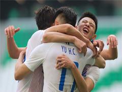上海申花2-1珀斯光荣