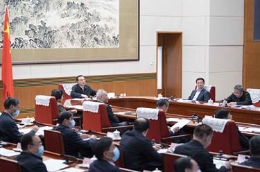 李克强主持召开经济形势部分地方政府负责人视频座谈会