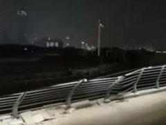 徐汇滨江亲水平台再遭船只碰撞