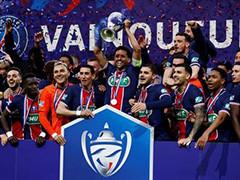 巴黎夺得法国杯