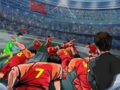 国足发布40强赛重启海报