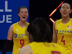 中国女排2-3加拿大