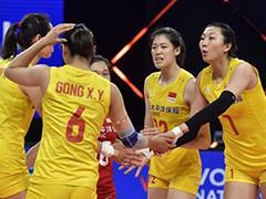 中国女排3-0荷兰