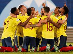 哥伦比亚1-0厄瓜多尔