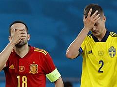西班牙0-0瑞典