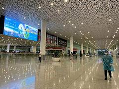 深圳机场航站楼内所有商铺已关闭
