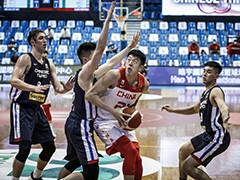 中国男篮91-73中国台北