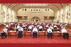 全国人大常委会党组成员与人大机关党员干部同上党史课 栗战书出席
