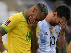 巴西阿根廷开赛五分钟叫停