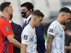 违规球员离开阿根廷队