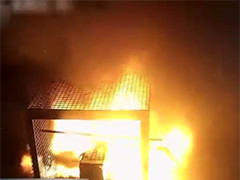 锂电池能量密度大 发生火灾后易爆燃