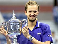 梅德韦杰夫3-0德约夺得美网男单冠军