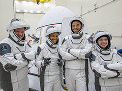 """SpaceX:成功入轨!首个""""全业余""""团队开启太空之旅"""