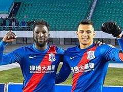 上海申花2-0长春亚泰