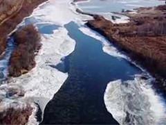 最低温-15℃ 黑龙江漠河多条河流进入流冰期