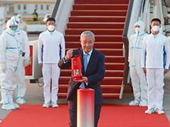 北京2022年冬奥会火种顺利抵京
