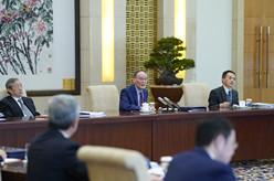 王岐山会见清华大学经济管理学院顾问委员会海外委员和中方企业家委员